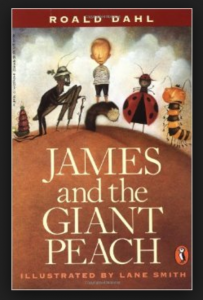 Book Cover - James and the Giant Peach