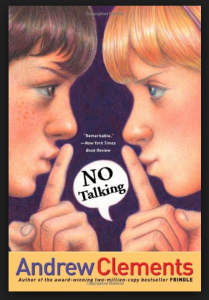 Book Cover - No Talking
