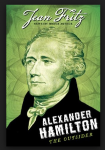 Book Cover - Alexander Hamilton The Outsider
