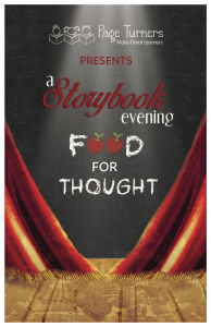 A Storybook Evening 2017 Cover Image