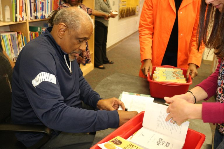 Book Signing at Page Turners Make Great Learners event