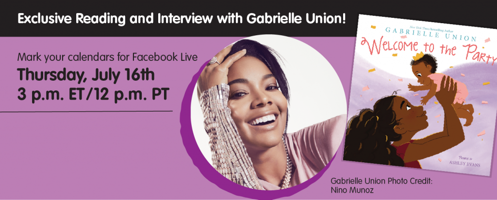 Exclusive Reading and Interview with Gabrielle Union